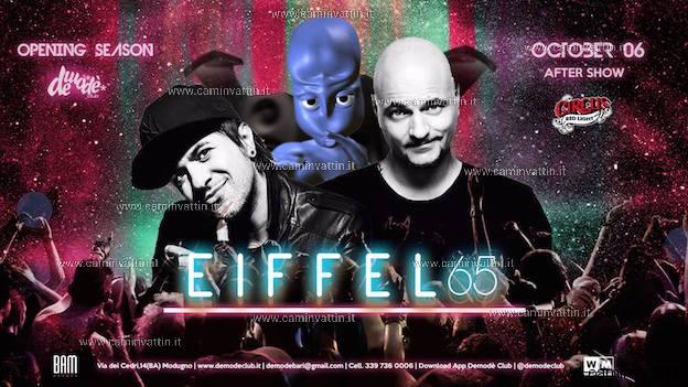 EIFFEL 65 e Red Light Circus al Demodè Club - Camin Vattin