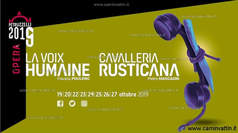 la voix humaine teatro petruzzelli cavalleria rusticana