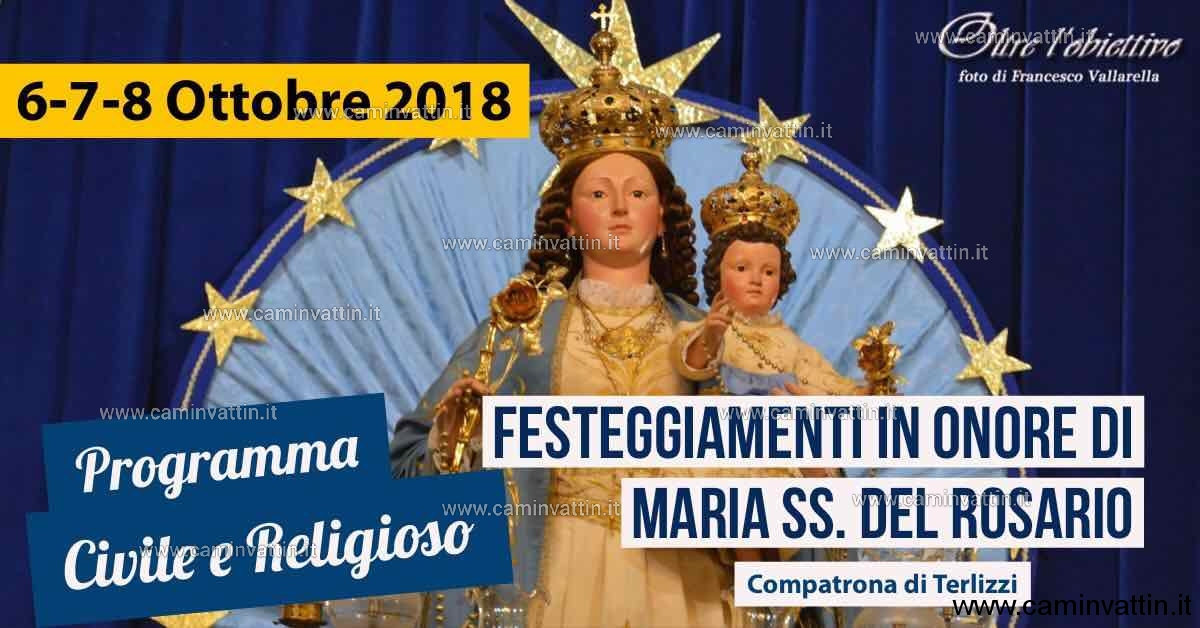 madonna del rosario 2018 terlizzi