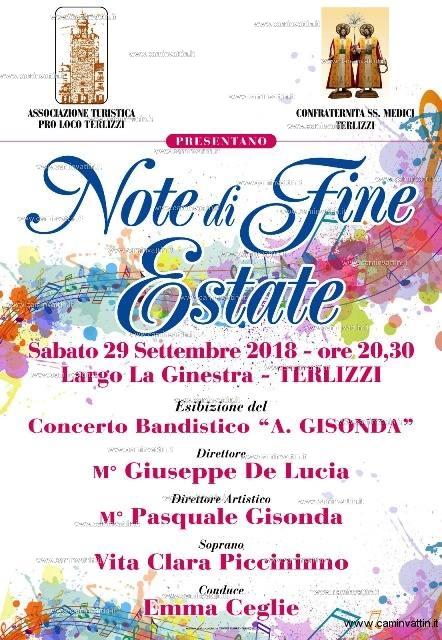 Note di Fine Estate a Terlizzi