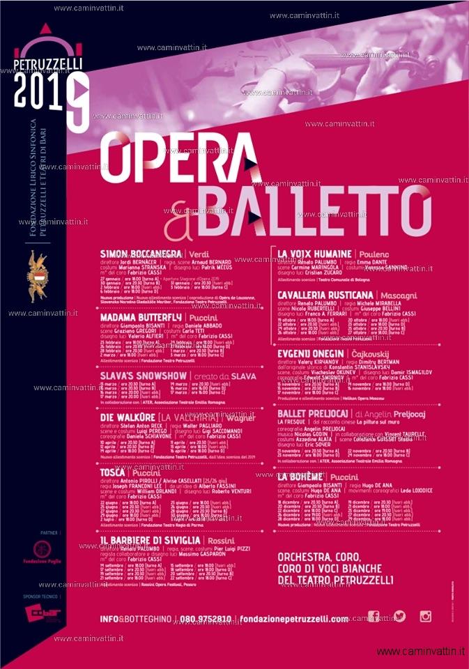 opera balletto teatro petruzzelli 2019