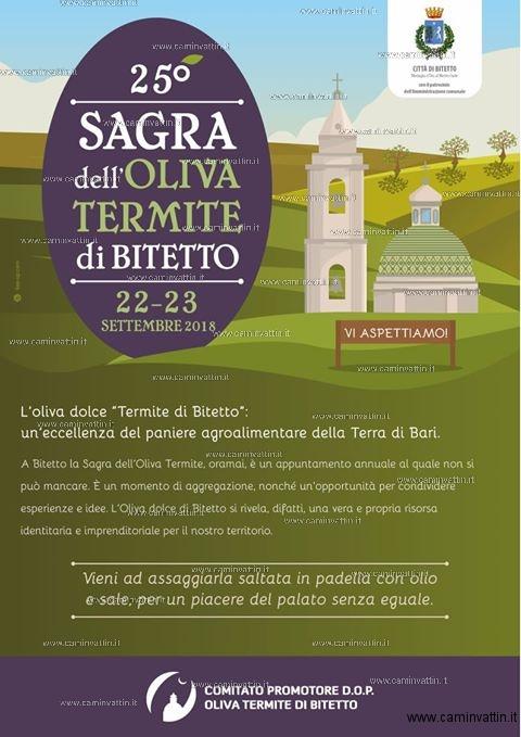 sagra dell oliva termite bitetto
