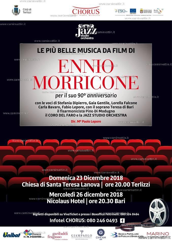 90 anniversario Ennio Morricone con il Coro del Faro al Nicolaus Hotel