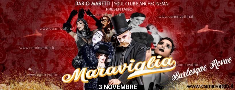 MARAVIGLIA Burlesque Review al Teatro AncheCinema