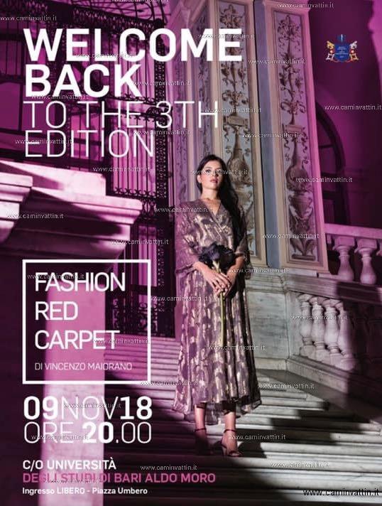 bari fashion red carpet 2018