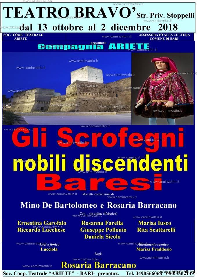 gli scrofegni nobili discendenti baresi