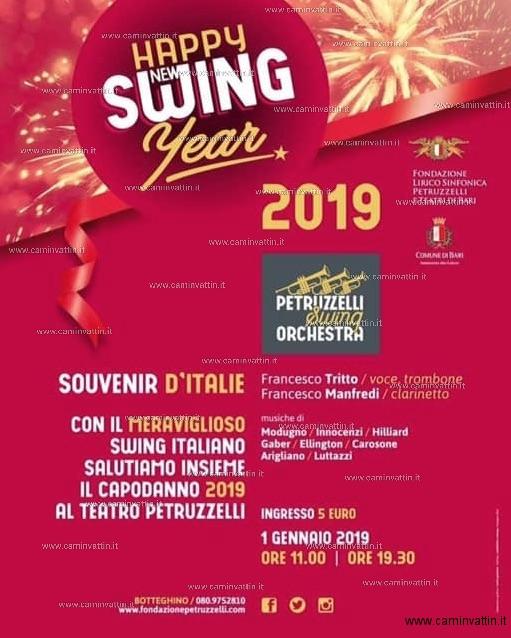 happy new swing year 2019 souvenir d italie teatro petruzzelli