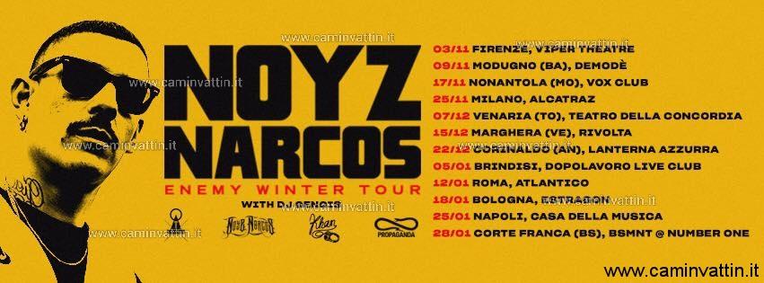 noyz narcos enemy winter tour demode club