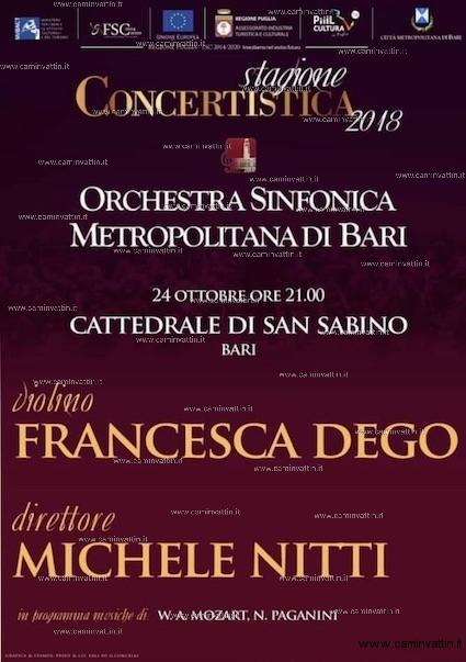 osm concerto cattedrale bari michele nitti