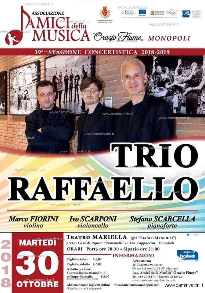 trio raffaelo teatro mariella monopoli