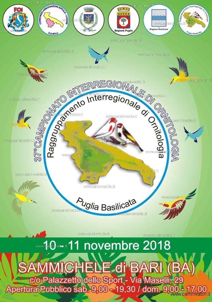 37 Campionato Interregionale di Ornitologia