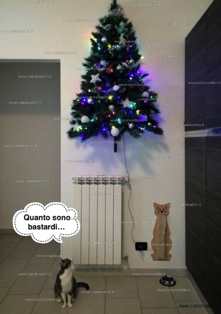 Albero di Natale anti gatto