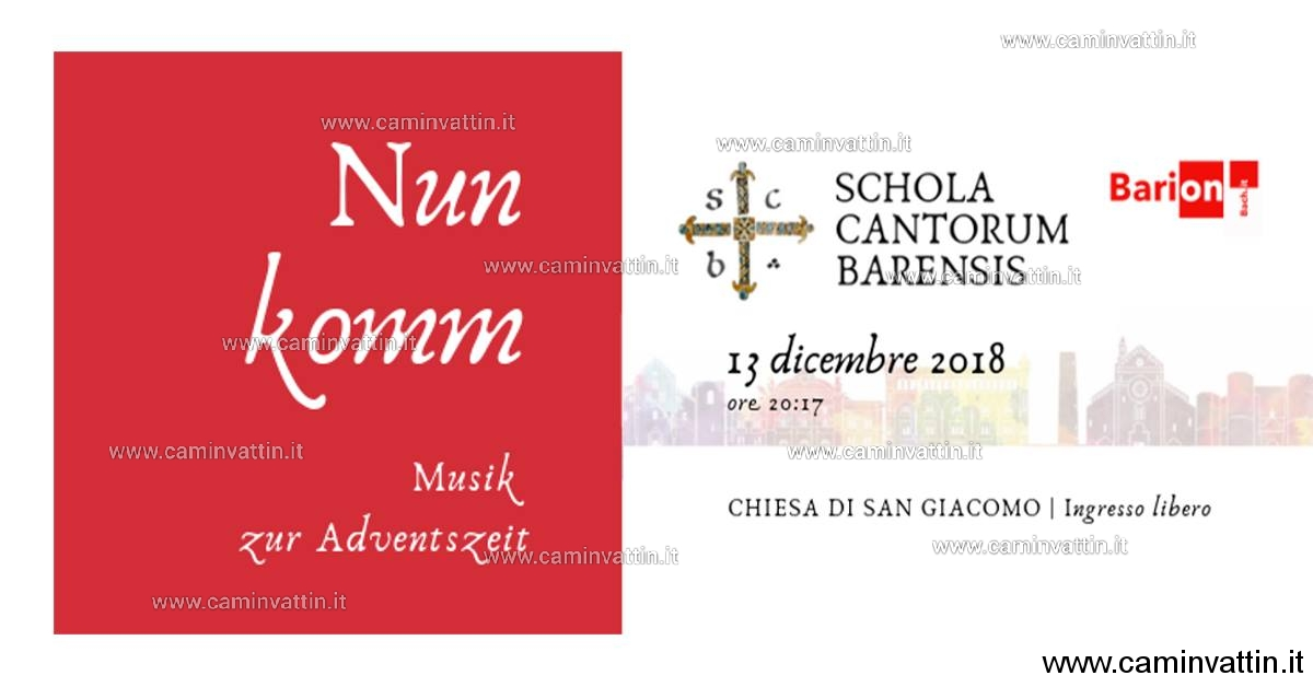 Bari on Festival NUN KOMM Musik zur Adventszeit