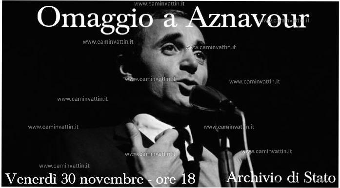 Cine concerto omaggio a Charles Aznavour Archivio di Stato di Bari