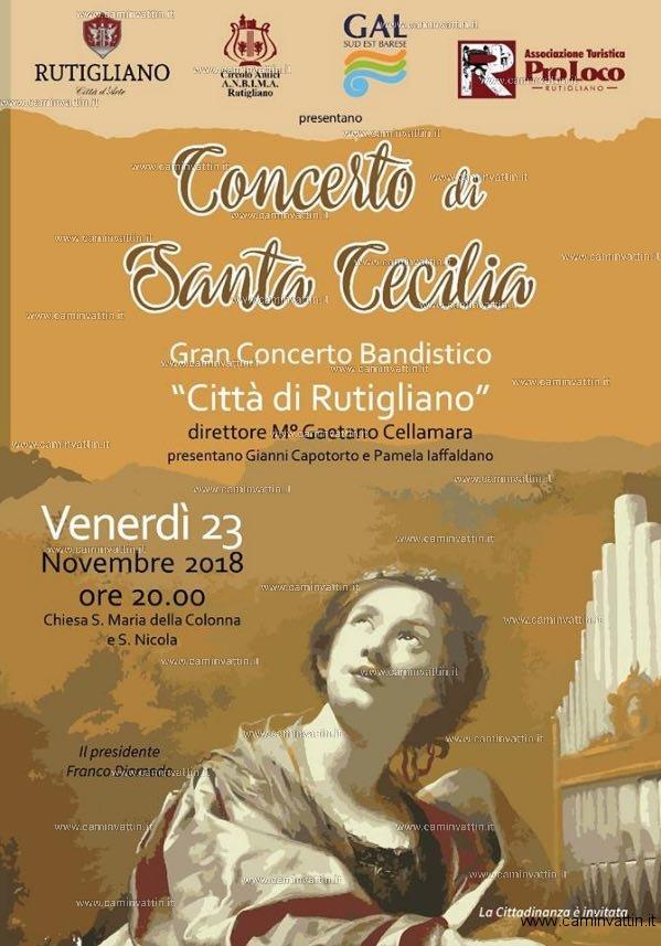 Concerto di Santa Cecilia Gran Concerto Bandistico Rutigliano