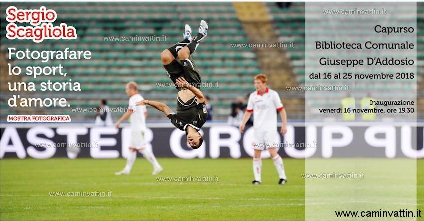 Fotografare lo sport una storia d amore mostra fotografica Sergio Scagliola