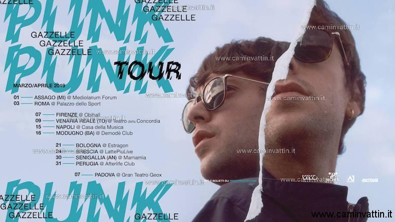 GAZZELLE in concerto a Bari Punk Tour Demode Club