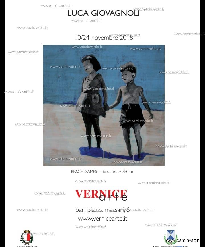Luca Giovagnoli solo exhibition mostra personale VerniceArte