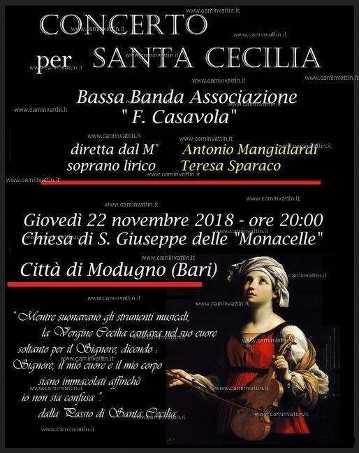Modugno Concerto per Santa Cecilia