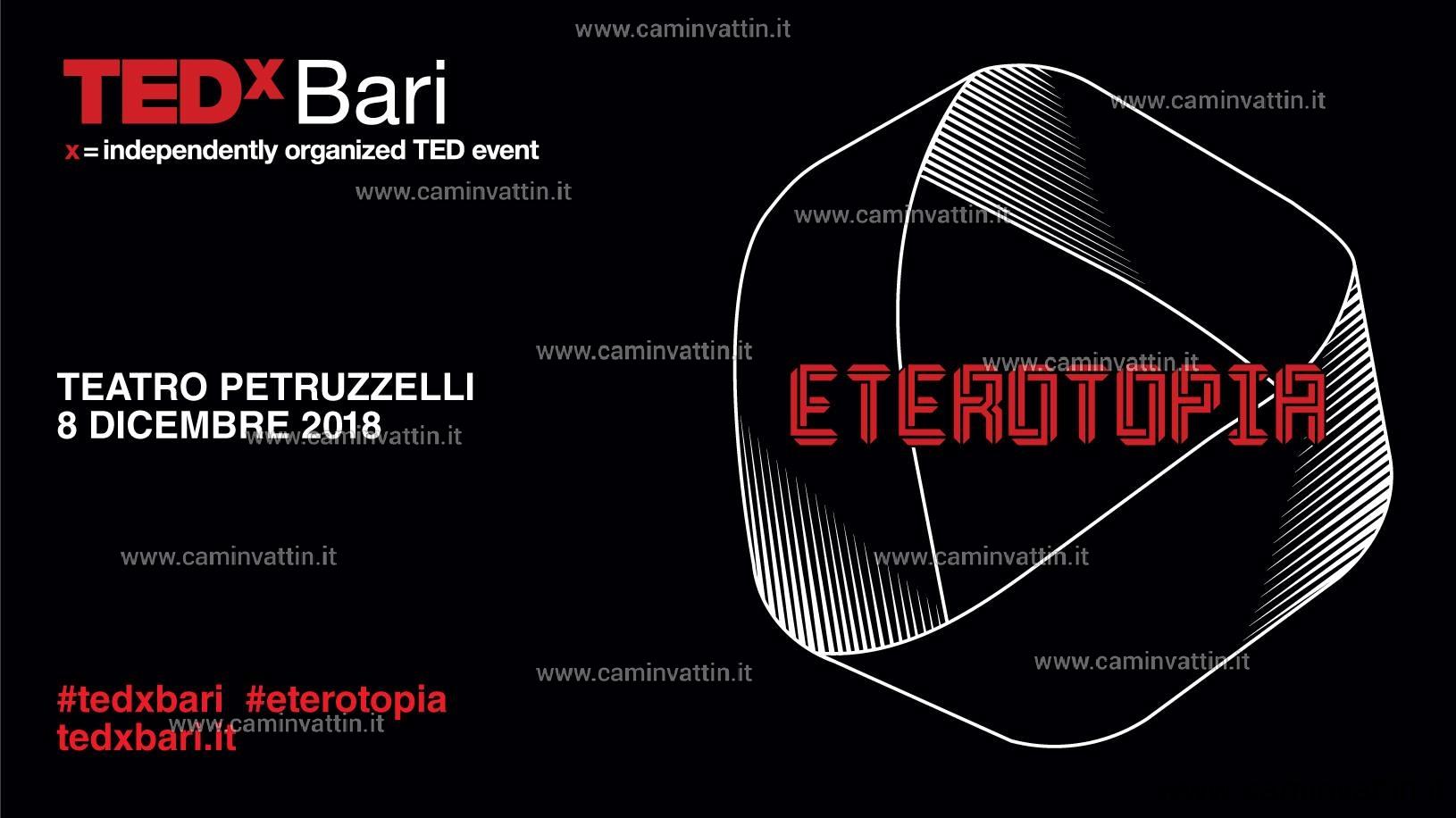TEDxBari 2018 Eterotopia Teatro Petruzzelli