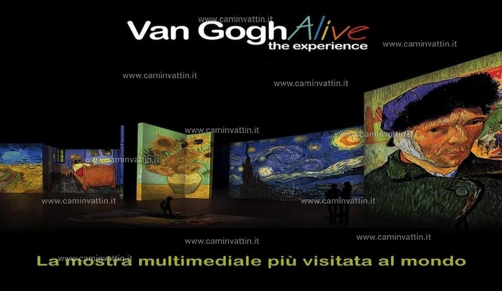Van Gogh alive The experience al Teatro Margherita di Bari