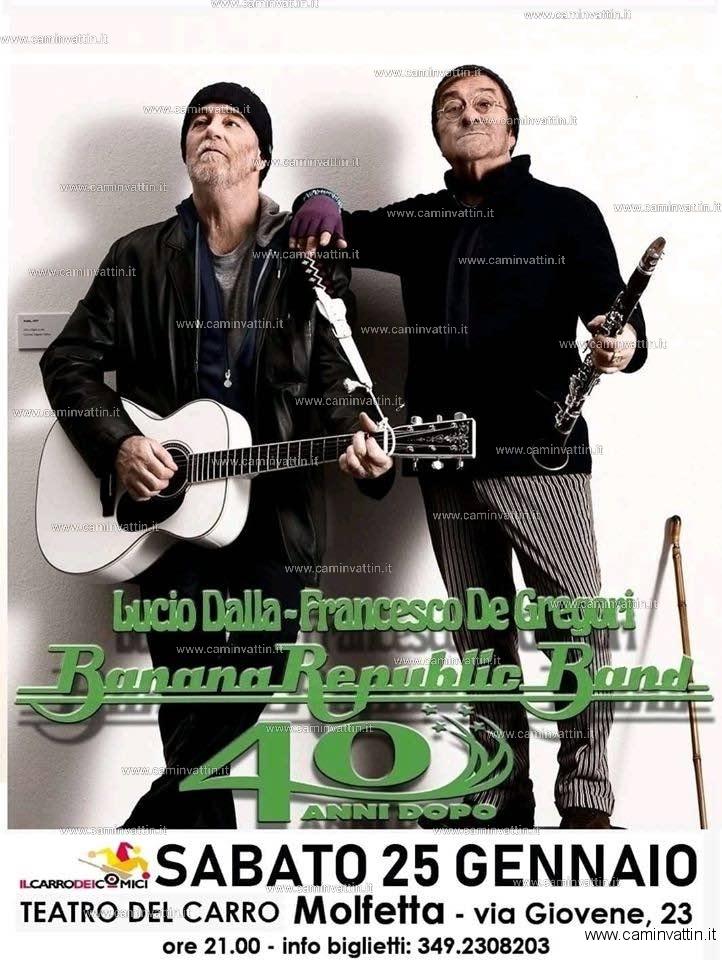 banana republic band 40 anni dopo molfetta
