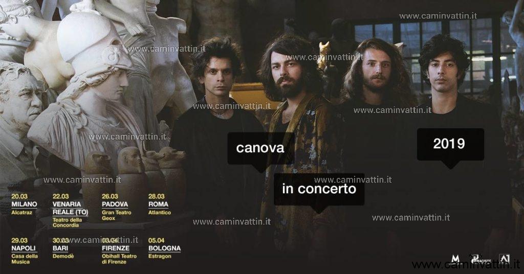 canova concerto bari tour 2019