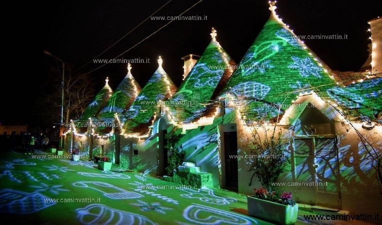 christmas light alberobello
