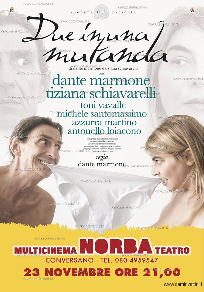 due in una mutanda teatro norba