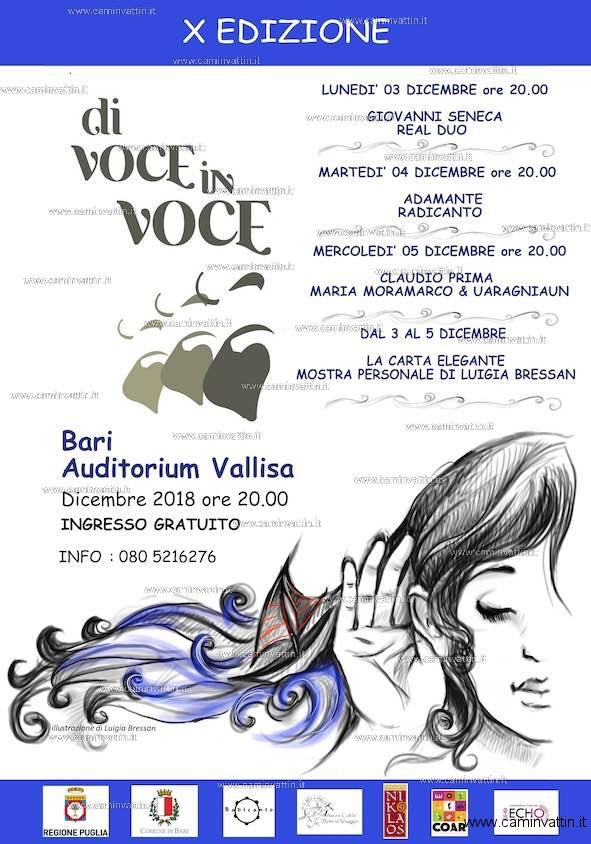 festival di Voce in Voce Bari 2 vallisa