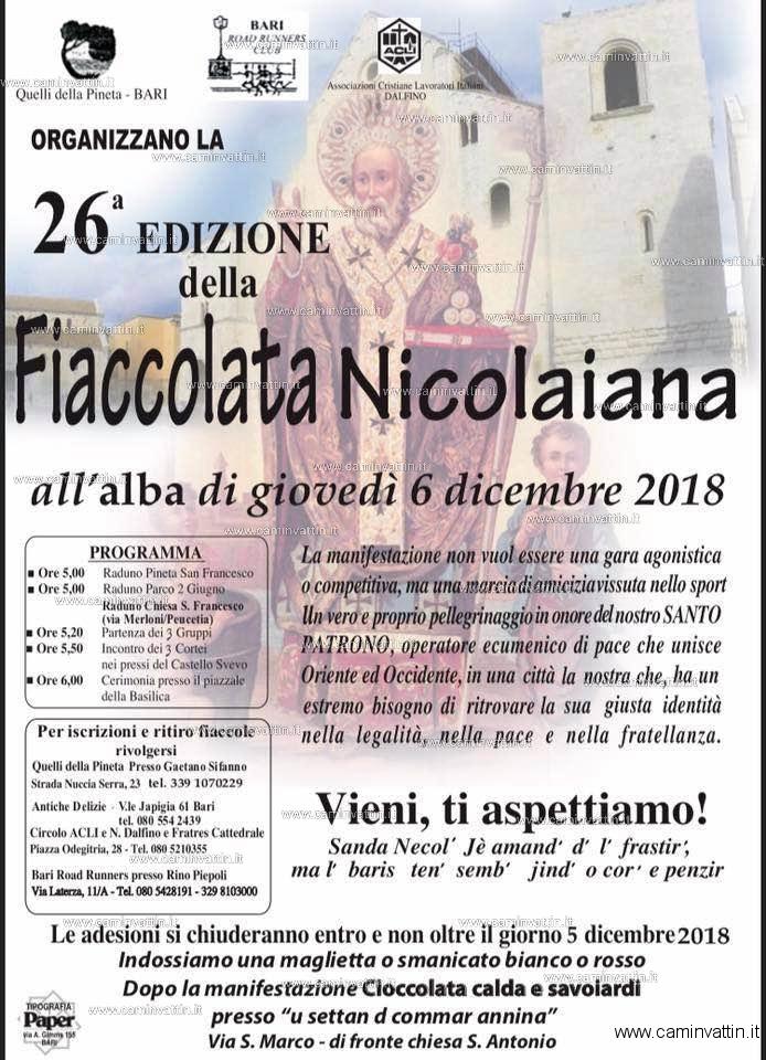 fiaccolata nicolaiana 2018