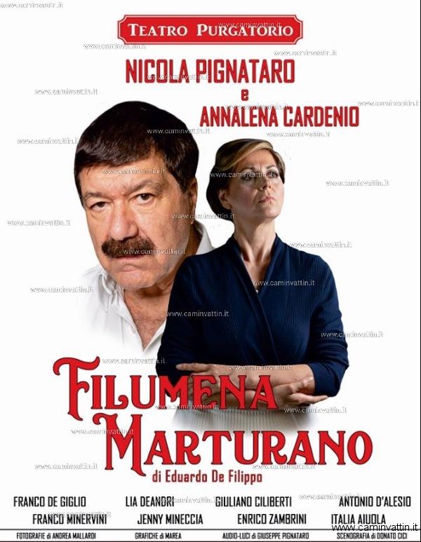filumena marturano nicola pignataro teatro purgatorio