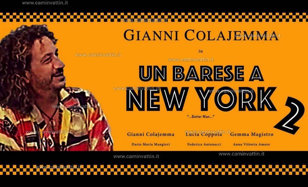 locandina un barese a new york 2