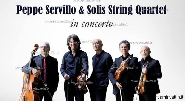 peppe servillo e solis string quartet
