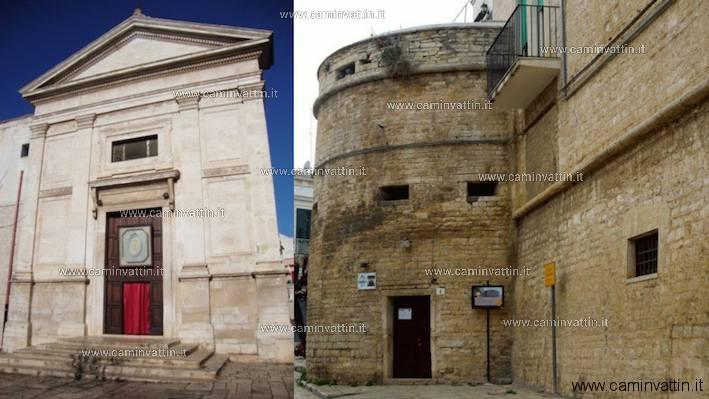 san giacomo e le antiche mura ruvo di puglia