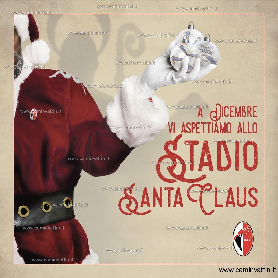 A dicembre lo stadio San Nicola diventa lo stadio Santa Claus