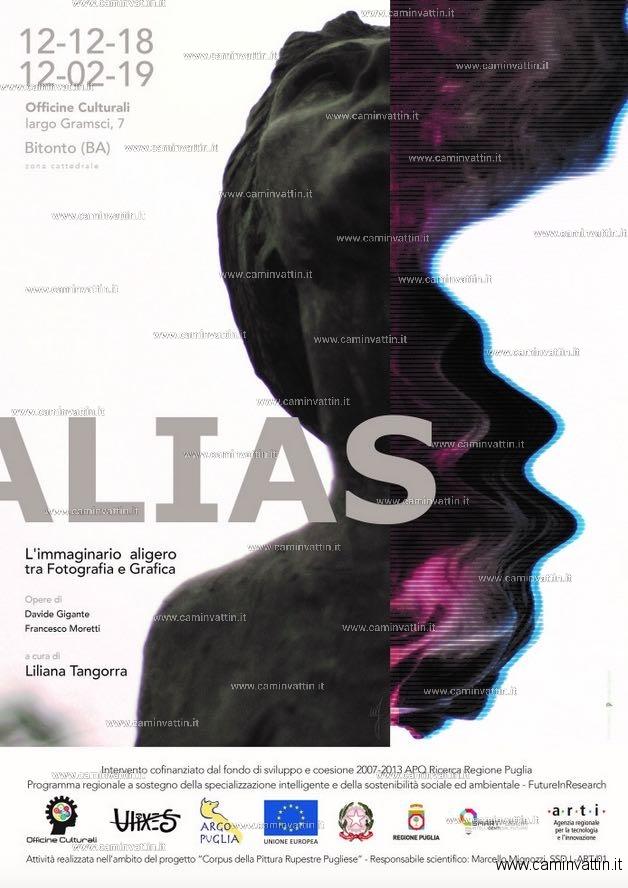 ALIAS Mostra fotografia e grafica di Davide Gigante e Francesco Moretti