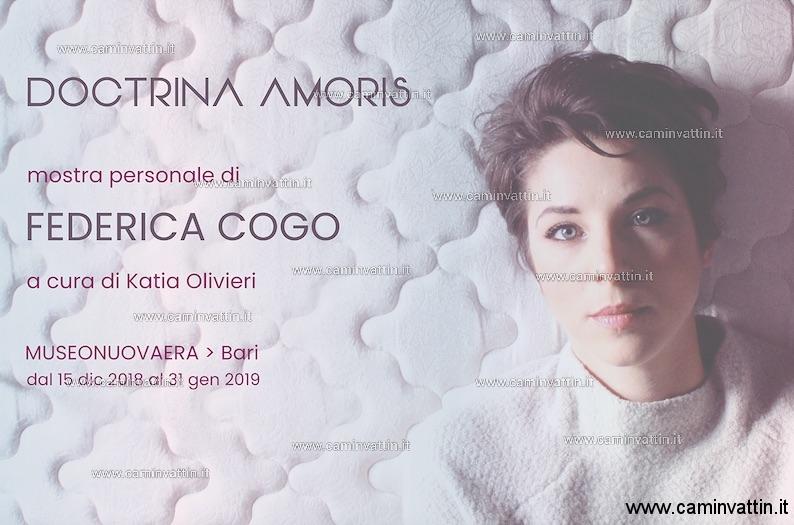 DOCTRINA AMORIS mostra personale di Federica Cogo