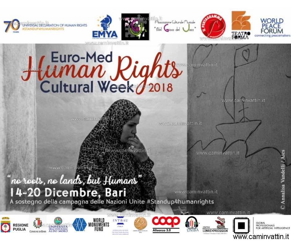Euro Med Human Rights Cultural Week 2018