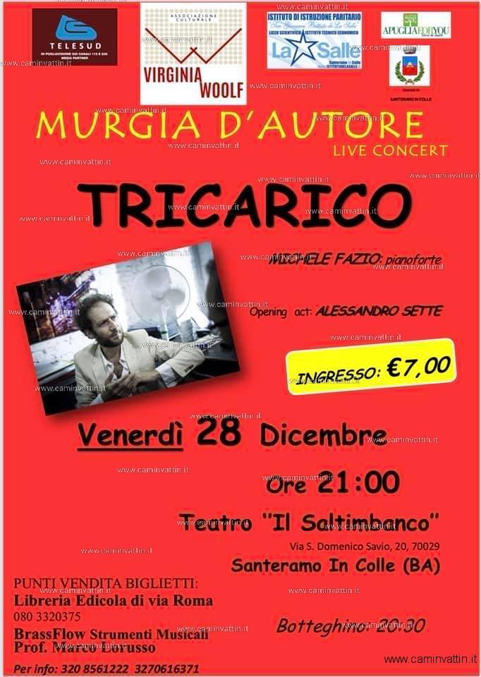 FRANCESCO TRICARICO in concerto al Teatro Il Saltimbanco