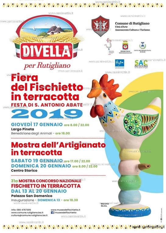 Fiera del Fischietto 2019 rutigliano Festa di Sant Antonio Abate