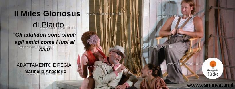 IL MILES GLORIOSUS di Plauto in scena al Teatro Abeliano