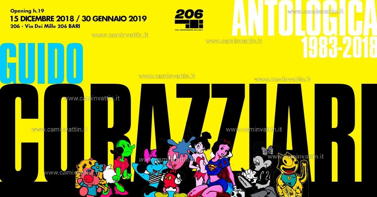 Mostra ANTOLOGICA 1983 2018 di Guido Corazziari