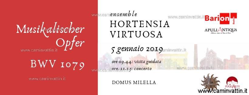 Musikalischer OPFER ensemble hortensia virtuosa