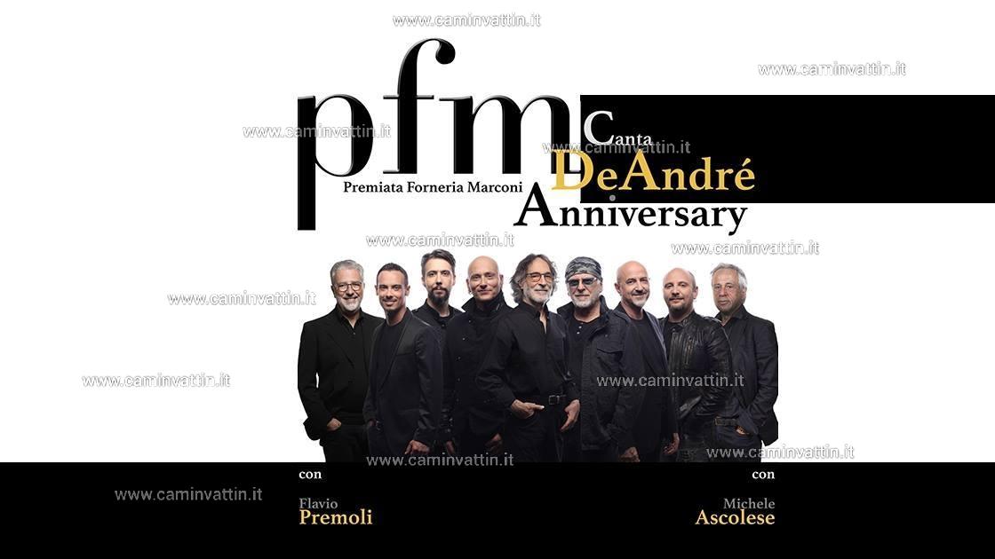 PFM canta De Andre Anniversary Tour