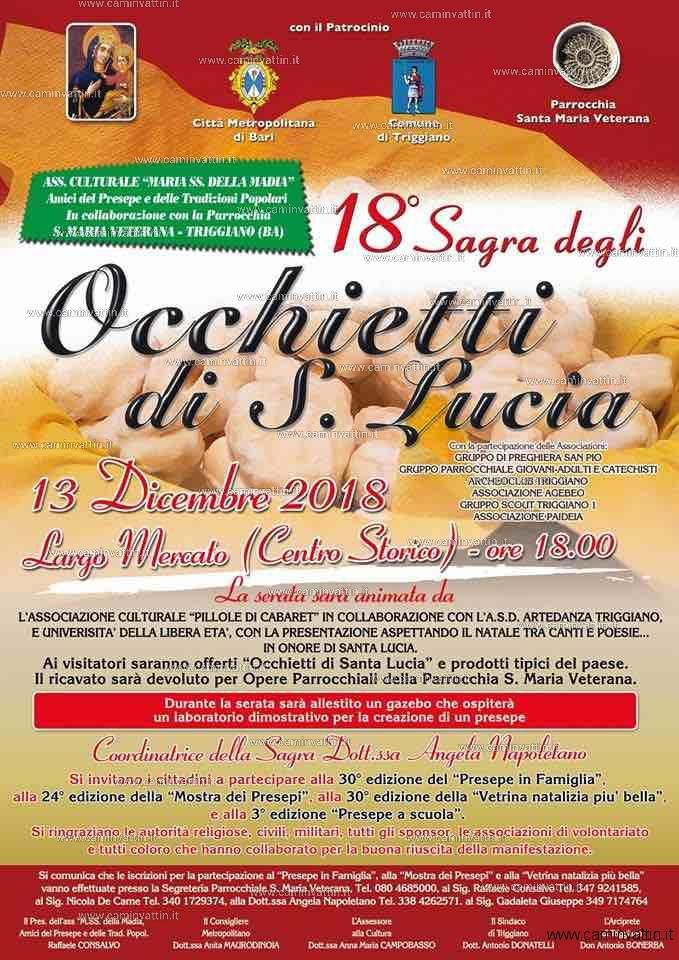 Sagra degli Occhietti di Santa Lucia a Triggiano 18 edizione