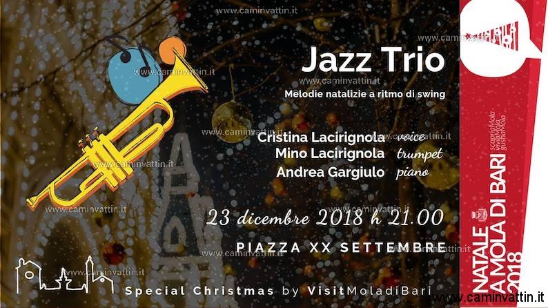Special Christmas Jazz Trio Concerto di Natale a Mola di Bari