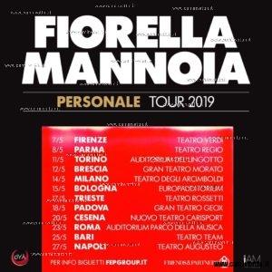 fiorella mannoia personale tour 2019 date
