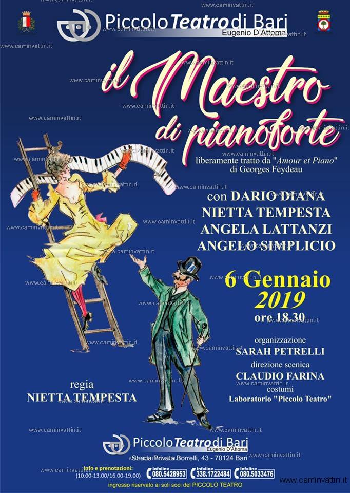 il maestro di pianoforte piccolo teatro bari