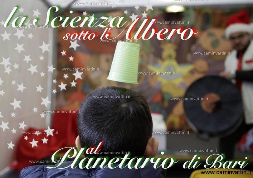 la scienza sotto l albero planetario sky skan bari